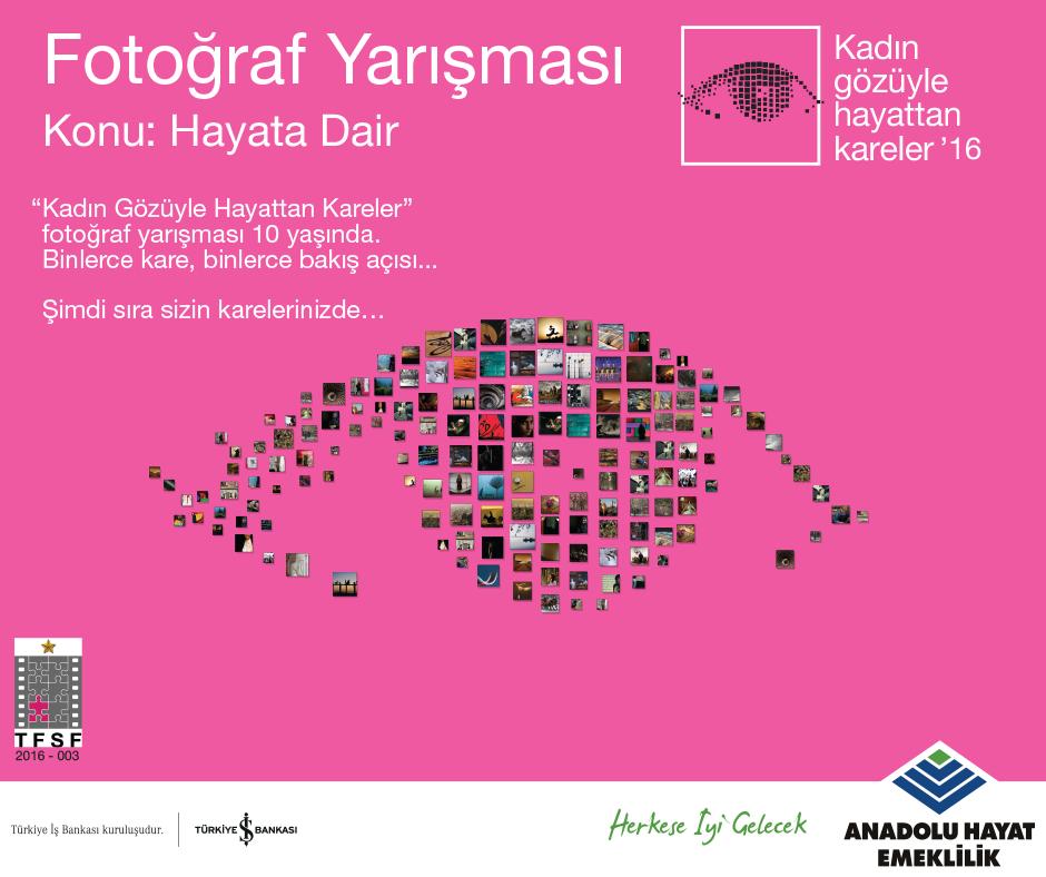 Kadın Gözüyle Hayattan Kareler '16 Fotoğraf Yarışması Başladı