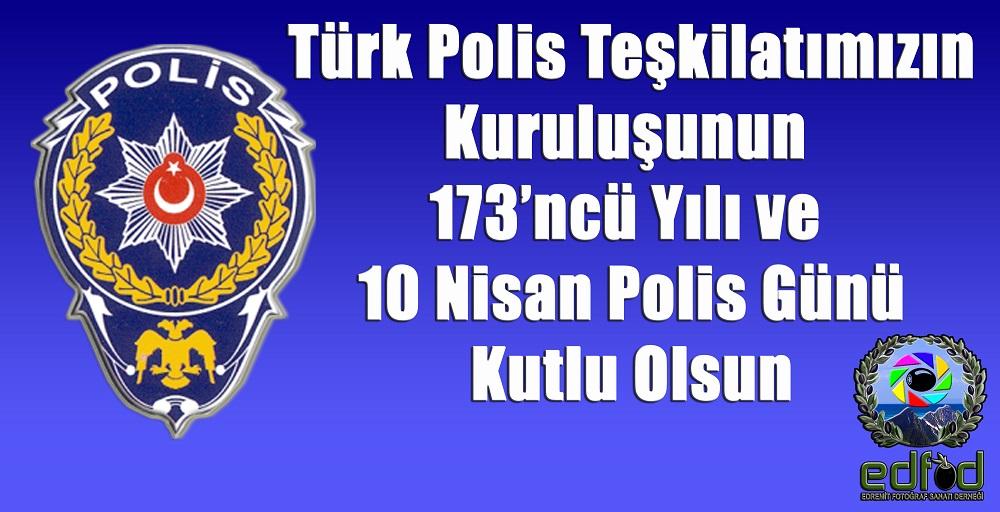 POLİS GÜNÜ KUTLU OLSUN.