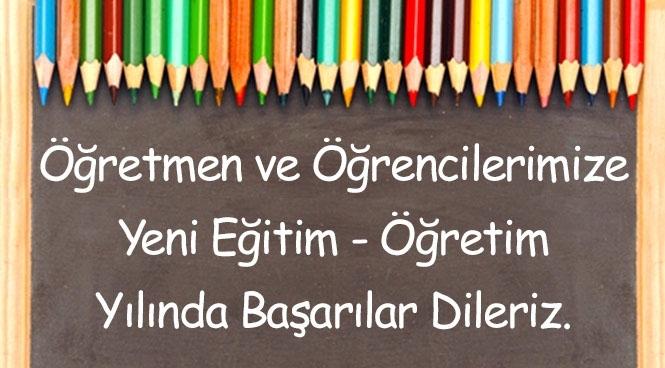 Yeni Yıl Eğitim ve Öğretim Yılı Kutlama Mesajı