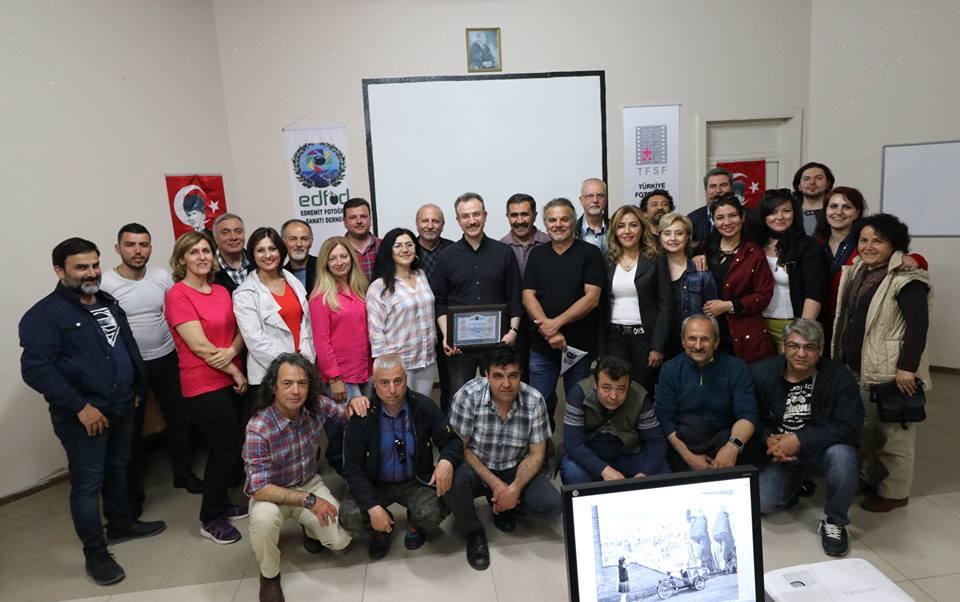 FOTOĞRAF SANATÇISI GALİP ÇETİNER'İ AĞIRLADIK
