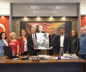 EDREMİT BELEDİYE BAŞKANI SAYIN SELMAN HASAN ARSLAN'I ZİYARET ETTİK